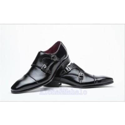メンズビジネスシューズ革靴プレーントゥ紳士靴フォーマルシューズ快適靴歩きやすい通勤リクエスト無地ハイカットシューズMS