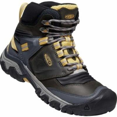 キーン Keen レディース ブーツ シューズ・靴 KEEN Ridge Flex Mid Waterproof Boot Magnet/Ochre