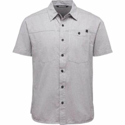 ブラックダイヤモンド Black Diamond メンズ 半袖シャツ シャンブレーシャツ トップス Chambray Modernist Shirt Slate