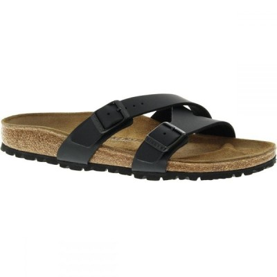ビルケンシュトック Birkenstock レディース サンダル・ミュール シューズ・靴 Yao Limited Edition Narrow Sandal Black Birko Flor