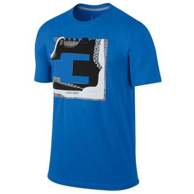 JORDAN Tシャツ Jordan レトロ 3 Numbers T-Shirt ナイキ/Nike ロイヤル【OCSL】