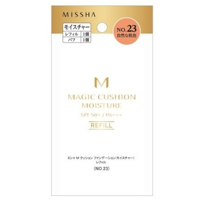 MISSHA (ミシャ) M クッション ファンデーション(モイスチャー)(レフィル No.23 自然な肌色) ファンデーション
