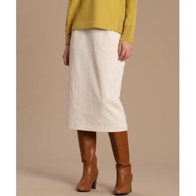 【スーペリアクローゼット/SUPERIOR CLOSET】 《Luftrobe》コーデュロイタイトスカート
