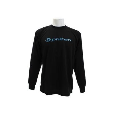 ファイテン(PHITEN) Tシャツ 長袖 RAKUシャツ SPORTS 吸汗速乾 ロゴ 3117JG27410 【バレーボールウェア スポーツウェア】 (メンズ)