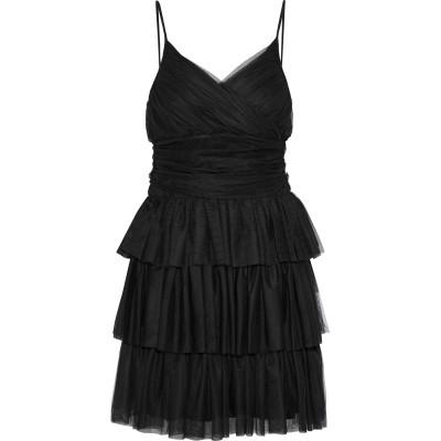 MAJE ミニワンピース&ドレス ブラック 1 ポリエステル 100% ミニワンピース&ドレス