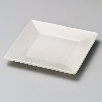 業務用食器 練色スクエアー4.5角皿 13.5×13.5×1.5�