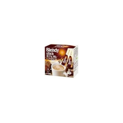 AGF ブレンディスティックミックスコーヒー カフェオレ大人のほろにが12g×30本 (45006)