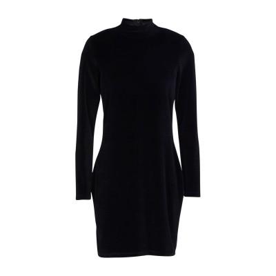 ALEXANDERWANG.T ミニワンピース&ドレス ブラック M コットン 77% / ポリエステル 23% ミニワンピース&ドレス
