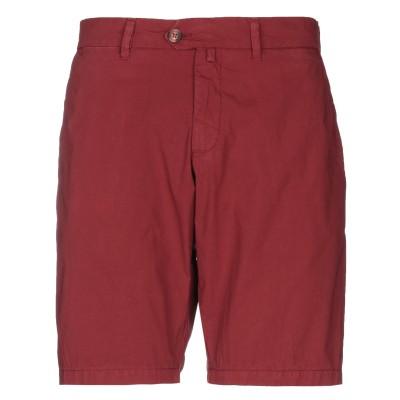 HOMEWARD CLOTHES バミューダパンツ ボルドー 44 コットン 97% / ポリウレタン 3% バミューダパンツ