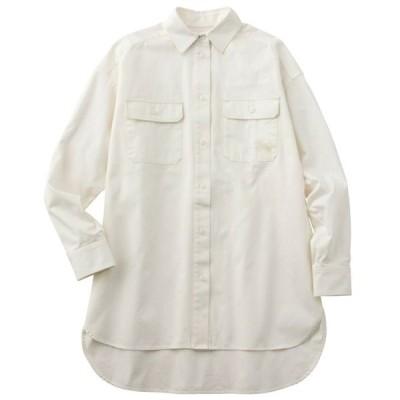 カンタベリー オーバーボタンシャツ WA41184-11 シャツジャケット レディスウェア
