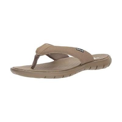 [ハーレー] Men's Flex 2.0 Flip-Flop, Khaki, Size 7.0