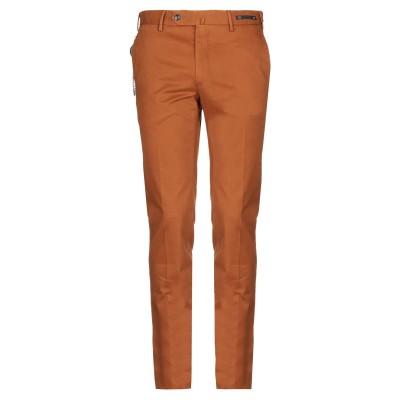 PT Torino パンツ 赤茶色 50 コットン 98% / ポリウレタン 2% パンツ