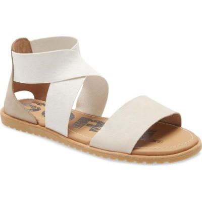 ソレル SOREL レディース サンダル・ミュール シューズ・靴 Ella Sandal Ancient Fossil Nubuck Leather