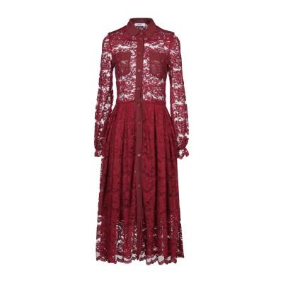TENAX 7分丈ワンピース・ドレス ボルドー 40 ナイロン 71% / ポリエステル 29% 7分丈ワンピース・ドレス