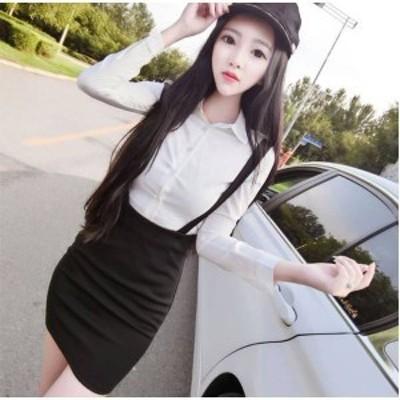 タイトスカートが可愛い長袖のセットアップ ap0523