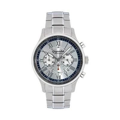 Gigandet Men's Quartz Watch Vernissage Chronograph Analog Stainless Steel Silver G47-003 並行輸入品