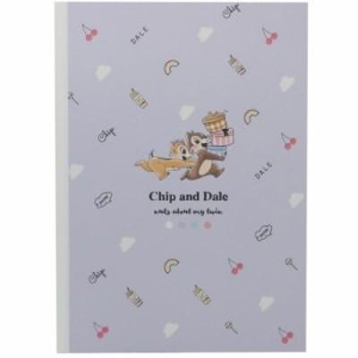 チップ&デール 横罫ノート B5 学習 ノート チラシ ディズニー キャラクター グッズ メール便可