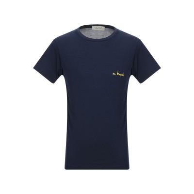 アスレティック ヴィンテージ ATHLETIC VINTAGE T シャツ ダークブルー S コットン 100% T シャツ