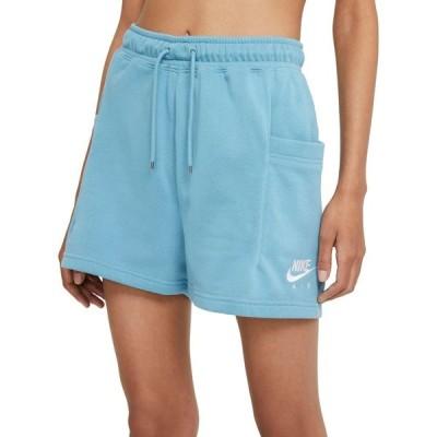 ナイキ Nike レディース ショートパンツ ボトムス・パンツ Air Fleece Shorts Cerulean