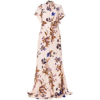 ロシャス ROCHAS ロングワンピース&ドレス ライトピンク 42 シルク 100% ロングワンピース&ドレス
