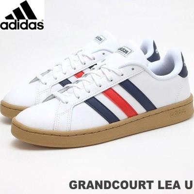 アディダス スニーカー メンズ グランドコート adidas GRANDCOURT LEA U EE7888