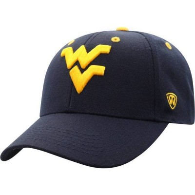 トップオブザワールド メンズ 帽子 アクセサリー Top of the World Men's West Virginia Mountaineers Blue Triple Threat Adjustable Hat