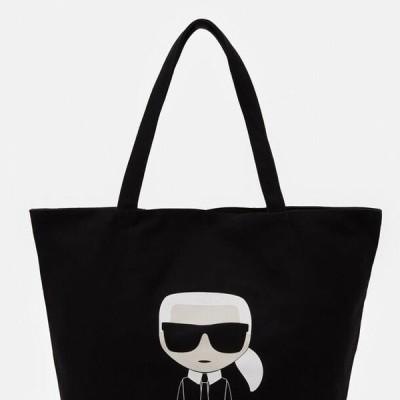 レディース アクセサリー IKONIK KARL TOTE - Tote bag - black