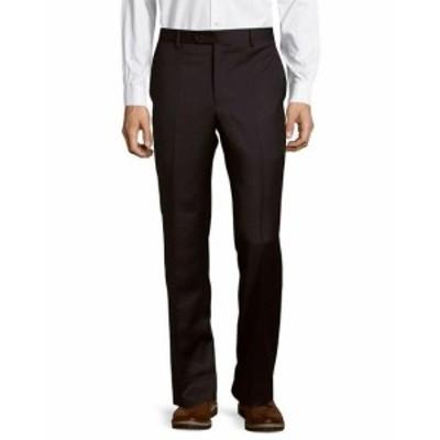 ファッション パンツ Saks Fifth Avenue Microsphere Solid Wool Trouser 34 Blue