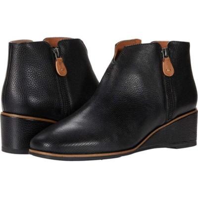 ケネス コール Gentle Souls by Kenneth Cole レディース ブーツ ウェッジソール シューズ・靴 Ella Wedge Zip 2 Black Leather