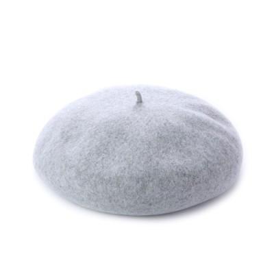 ヨコイボウシ よこい帽子 トーク型バスクベレー帽 (ライトグレー)