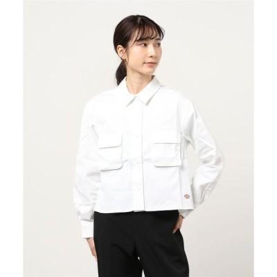 シャツ ブラウス 【レディース】長袖ワークシャツ