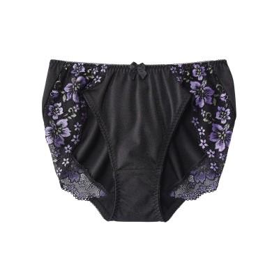理想のブラ編レースペアショーツ(L) スタンダードショーツ, Panties