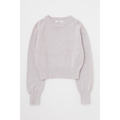 CROPPED COTTON ニット
