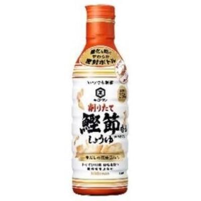 キッコーマン 【萬】いつでも新鮮 鰹節香るしょうゆ 450ml×6入