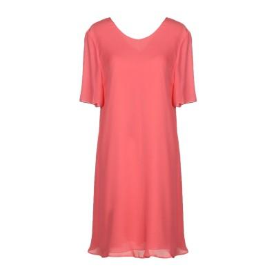 エンポリオ アルマーニ EMPORIO ARMANI ミニワンピース&ドレス コーラル 40 100% シルク ミニワンピース&ドレス