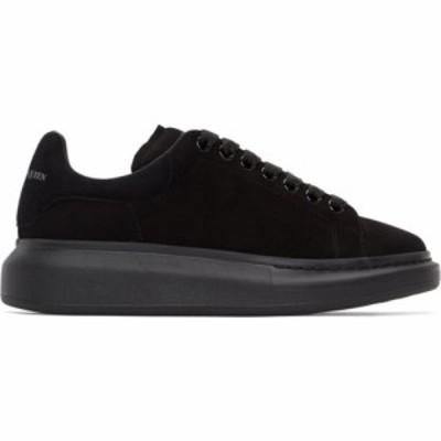アレキサンダー マックイーン Alexander McQueen メンズ スニーカー シューズ・靴 Black Suede Oversized Sneakers Black