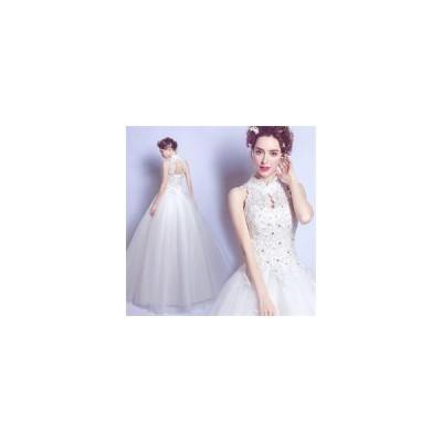 ベアトップドレス ストラップチュール ウェディングドレス エンドブティック 編み上げタイプ ブライダルドレス アップリケレース da867f0f0y5