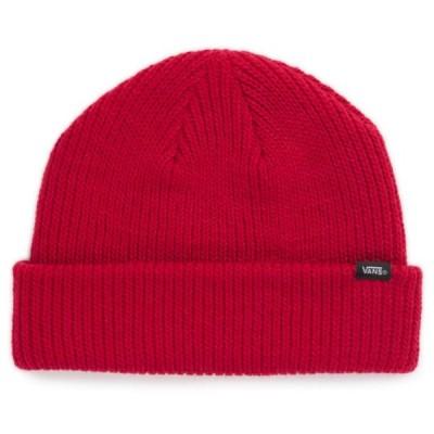 バンズ コア ベーシック ビーニー チリペッパー ニットキャップ ニット帽 スケート 帽子 メンズ レディース VANS CORE BASICS BEANIE CHILI PEPPER