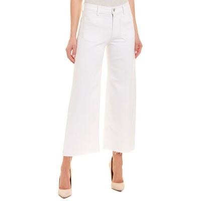 ハドソンジーンズ カジュアルパンツ ボトムス レディース HUDSON Jeans Holly White High-Rise Wide Leg Crop white