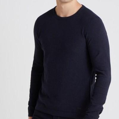 ボス メンズ ファッション TEMPEST - Jumper - dark blue
