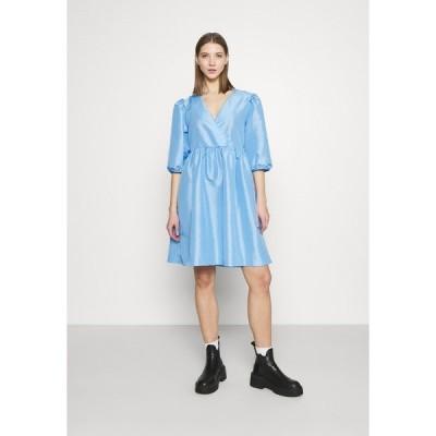 モンキ ワンピース レディース トップス CELIA DRESS - Day dress - blue light