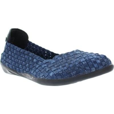 ベルニー メイヴ Bernie Mev レディース スリッポン・フラット シューズ・靴 Catwalk Jeans Stretch
