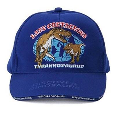 (カロラータ) colorataスポーツキャップ ティラノサウルス ブルー