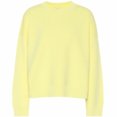 ヴィンス Vince レディース ニット・セーター トップス Cotton-blend sweater Lemon Glow
