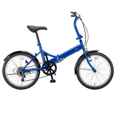 折りたたみ自転車 キャプテンスタッグ ライヤー FDB206 折り畳み自転車 20インチ 6段変速 軽量 20インチ ブルー