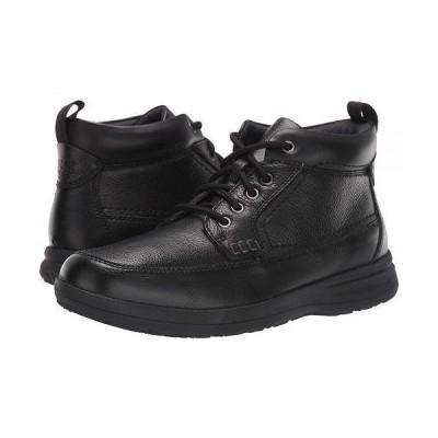 Nunn Bush ナンブッシュ メンズ 男性用 シューズ 靴 ブーツ レースアップ Cam Moc Toe Boot - Black Tumbled