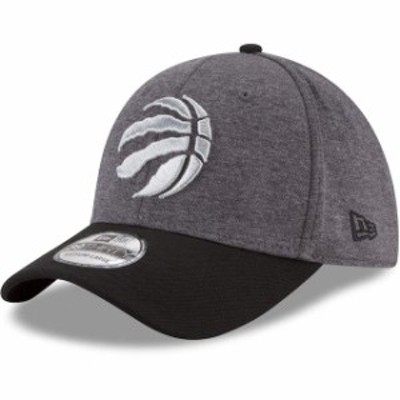 New Era ニュー エラ スポーツ用品  New Era Toronto Raptors Heathered Gray/Black 39THIRTY Flex Hat