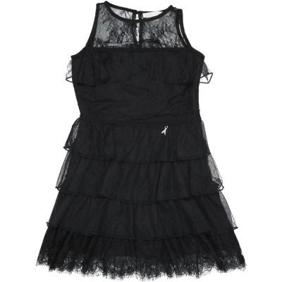 パトリツィア ペペ PATRIZIA PEPE ワンピース&ドレス ブラック 14 ナイロン 100% / ポリエステル / ポリウレタン ワンピー