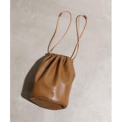 ability / JANESMITH ジェーンスミス / LEATHER DRAWSTRING BAG レザードローストリングバッグ 巾着バッグ エコバッグ / 21WBG-#944S WOMEN バッグ > ハンドバッグ