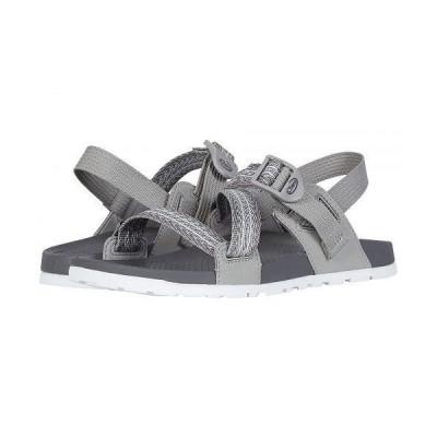Chaco チャコ レディース 女性用 シューズ 靴 サンダル Lowdown Sandal - Pully Gray